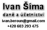 Ivan Šíma - daně a účetnictví